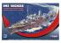 Mirage maquette bateau 350801 HMS Anchusa Corvette de classe Flower (K186) 1/350