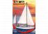 Mirage maquette bateau 508002 S/Y OPTY yacht de mer polonais à quille 1/50