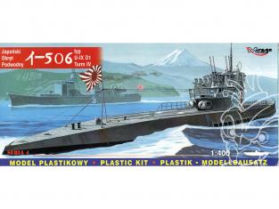 Mirage maquette Sous-marins 40046 Sous-marin japonais I-506 type IXD1 turm IV 1/400