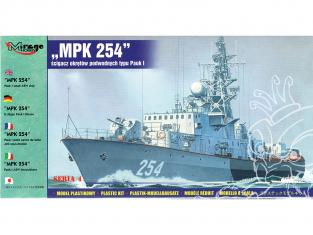"Mirage maquette Bateau 40424 Navire PAUK I ASW ""MPK 254"" 1/400"