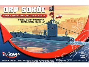 Mirage maquette Sous-marins 404208 Sous-marin polonais ORP SOKÓŁ 1/400