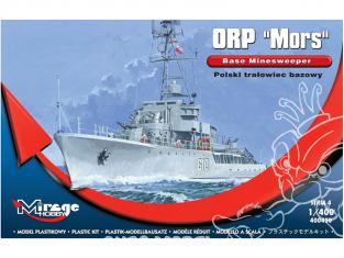 Mirage maquette Bateau 900001 dragueur de mines ORP MORS 1/400