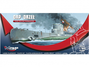 Mirage maquette Sous-marins 400407 ORP Orzeł Polsk 1/400