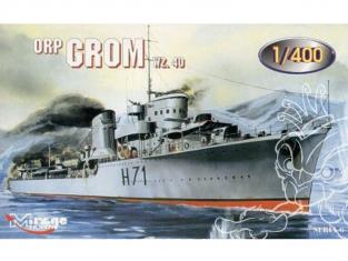 Mirage maquette Bateau 400614 destroyers ORP GROM wz.40 1/400