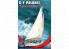 Mirage maquette bateau 508001 S/Y POLONEZ yacht de mer polonais à quille 1/50