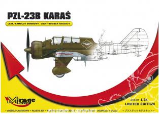 Mirage maquette avion 480001 PZL.23B Bombardier leger Limited Edition 1/48