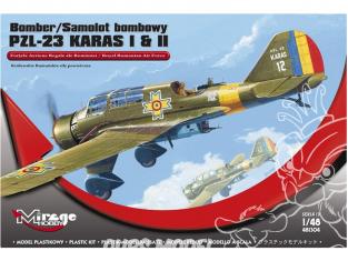 Mirage maquette avion 481304 PZL-23 KARAS I & II 'Force aérienne royale roumaine' 1/48