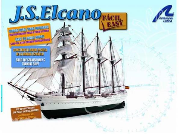 Artesania Bois 22255 J.S. Elcano coque abs 1/250