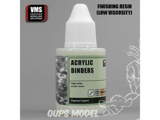 VMS PE03.FN Acrylic Binders Finishing - Liant résine Acrylique de finition 50ml