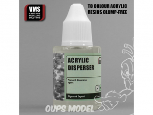 VMS PE04 Acrylic binders disperser - Dispeseur résine Acrylique 50ml