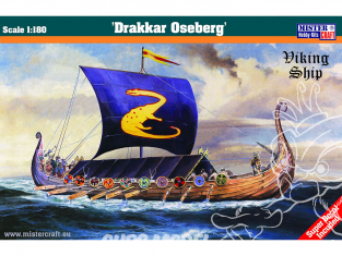 Master CRAFT maquette bateau 042097 Drakar Oseberg 1/180