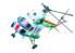 "Master CRAFT maquette helicoptére 061531 Mil Mi-2 ""Polizei/Policja/Policie 1/48"