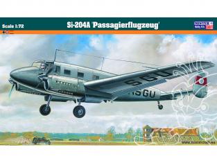 MASTER CRAFT maquette avion 060152 Siebel Avion de passagers Si-204A 1/72