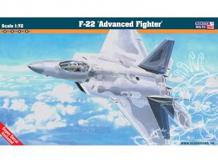 MASTER CRAFT maquette avion 060060 Lockheed Martin F-22 Advanced Fighter 1/72