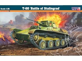 MASTER CRAFT maquettemilitaire 050047 T-60 Bataille de Stalingrad 1/35