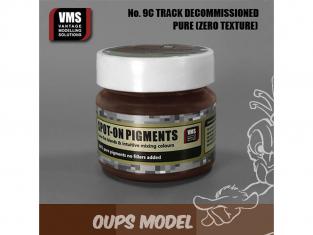 VMS Spot-On Pigments No9cZT Brun chenille Hors service Zero tex 45ml
