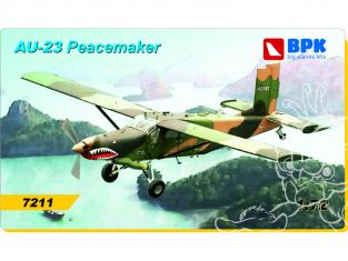 BPK maquette avion 7211 Pilatus porter PC-6/AU-23 1/72