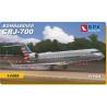 BPK maquette avion 14408 Bombardier CRJ-700 1/144