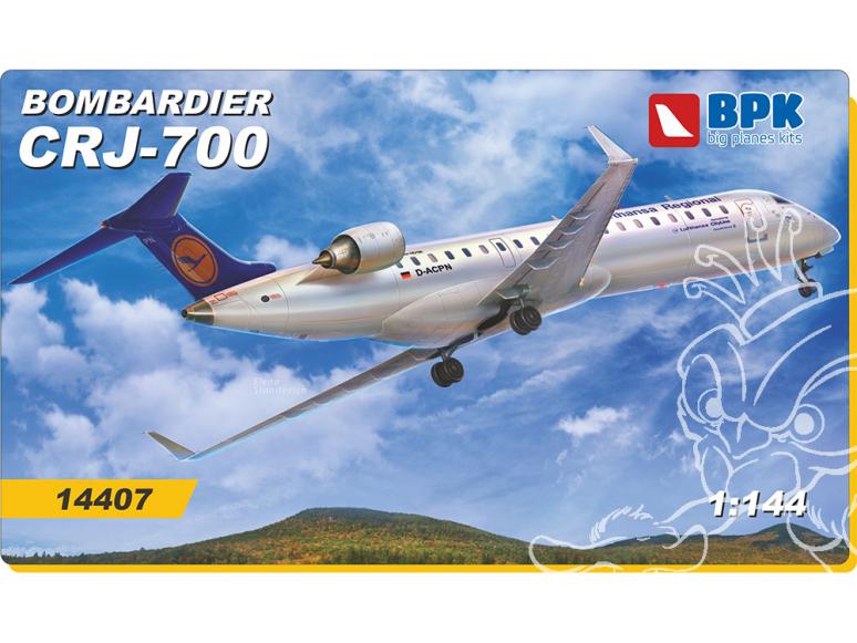 BPK maquette avion 14407 Bombardier CRJ-700 1/144