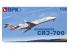 BPK maquette avion 7215 Bombardier CRJ-700 1/72