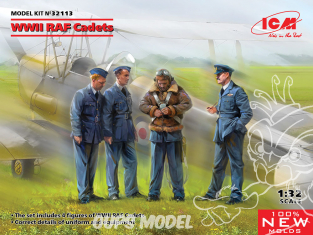 Icm maquette avion 32113 WWII RAF Cadets 1/32