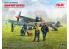 Icm maquette avion DS4802 Aérodrome de la RAF de la Seconde Guerre mondiale 1/48