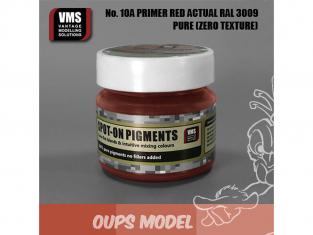 VMS Spot-On Pigments No10a Rouge apprêt RAL3009 Actuel Zero tex 45ml
