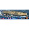 Hasegawa maquette bateau 52274 Porte-avions de la marine japonaise Akagi «Attack on Pearl Harbor» 1/700