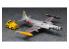 HASEGAWA maquette avion 02363 T-33A Shooting Star avec véhicule de remorquage 1/72