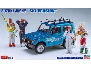 Hasegawa maquette voiture 20476 Suzuki Jimny «Version Ski» 1/24