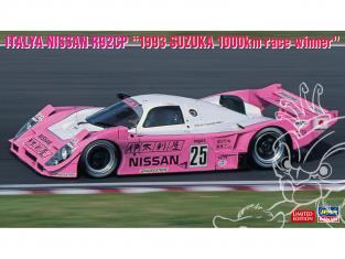 Hasegawa maquette voiture 20474 Italya Nissan R92CP Vainqueur de la course Suzuka 1000 km 1993 1/24