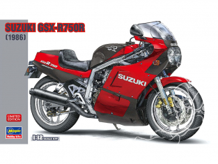 Hasegawa maquette moto 21730 Suzuki GSX-R750R 1986 1/12