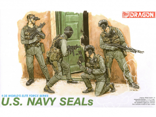 dragon maquette militaire 3017 U.S. Navy SEALs 1/35