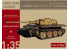 Modelcollect maquette militaire UA35020 Char Allemand E-60 Ausf.A 10.5cm Kwk Sabelzahntiger 1/35
