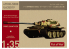 Modelcollect maquette militaire UA35019 Char Allemand E-60 Ausf.B 12.8cm Kwk Sabelzahntiger 1/35