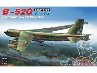 Modelcollect maquette Avion UA-72210 B-52G early type in Linebacker II Vietnam war 1967-1972 1/72