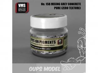 VMS Spot-On Pigments No15bZT Mélange gris béton XT Brillant Zero tex 45ml