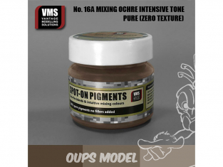VMS Spot-On Pigments No16aZT Mélange Ochres légers Zero tex 45ml