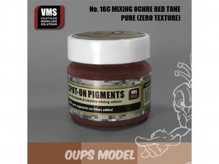 VMS Spot-On Pigments No16cZT Mélange Ochres rouge Zero tex 45ml
