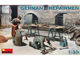 Mini Art maquette militaire 35353 RÉPARATEURS ALLEMANDS WWII 1/35