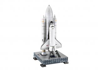 Revell maquette espace 05674 Navette Spatiale et Booster Rockets 40th. Anniversary inclus colle et peintures principale 1/72