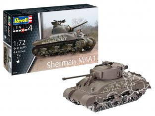 Revell maquette militaire 03290 Sherman M4A1 1/72