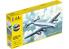 Heller maquette avion 56310 STARTER KIT Lockheed L-749 CONSTELLATION A.F. inclus peintures principale colle et pinceau 1/72