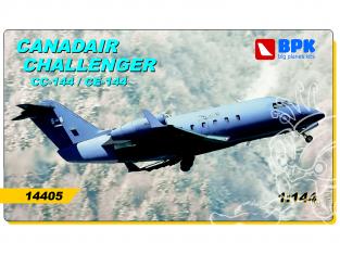 BPK maquette avion 14405 Canadair Challenger CL600 CC-144/CE-144 1/144