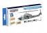 Hataka Hobby peinture acrylique Blue Line BS14 Set de peinture Peinture pour hélicoptères US Marine Corps 8 x 17ml