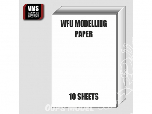 VMS WFU 10 feuilles de papier