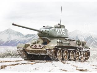 Italeri maquette militaire 6585 T-34/85 Korean War 1/35