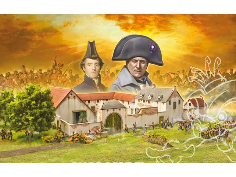 Italeri maquette 6197 La Haye Sainte Waterloo 1815 ENSEMBLE DE BATAILLE 1/72