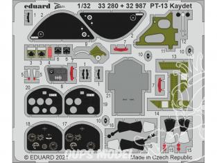 Eduard photodécoupe avion 33280 Zoom amélioration PT-13 Kaydet Roden 1/32