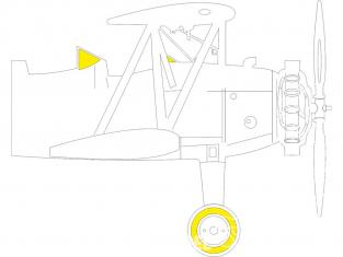 Eduard Express Mask JX274 PT-13 Kaydet Roden 1/32